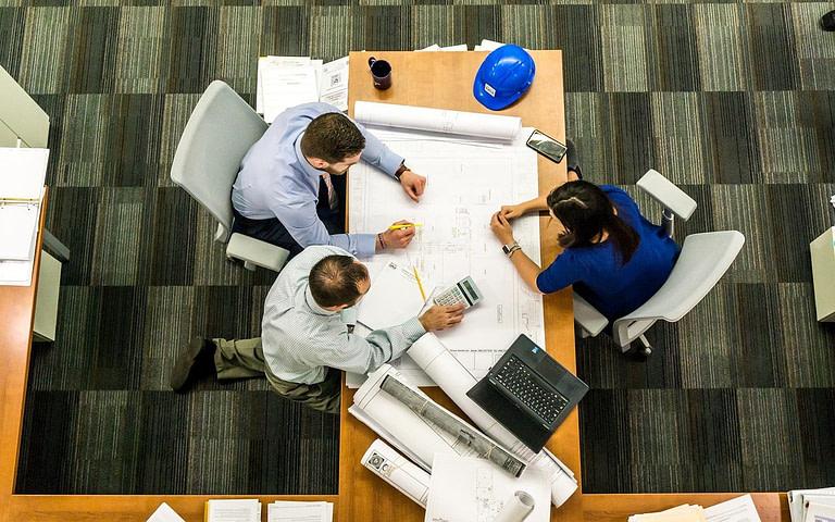 business financing meeting